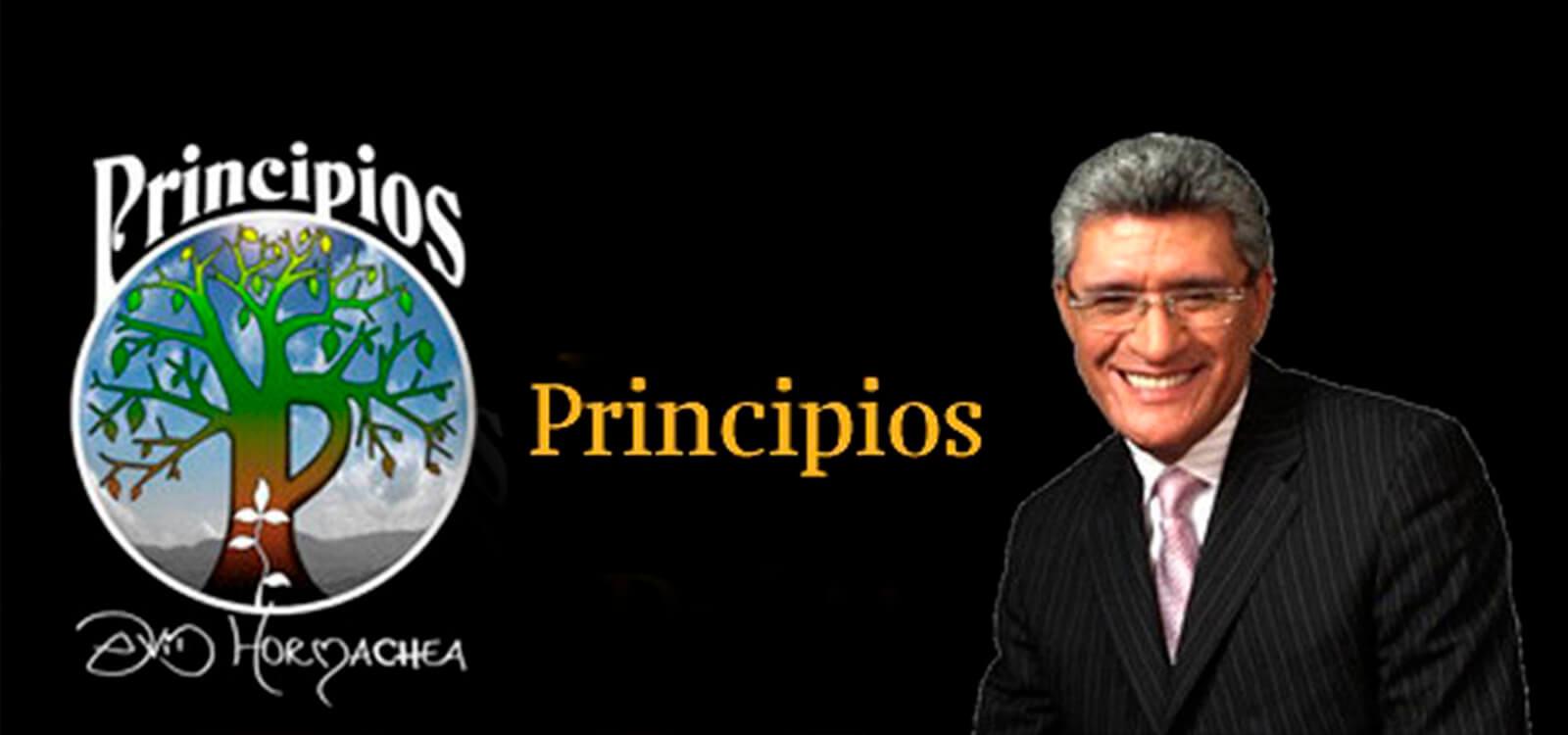 principios david hormachea